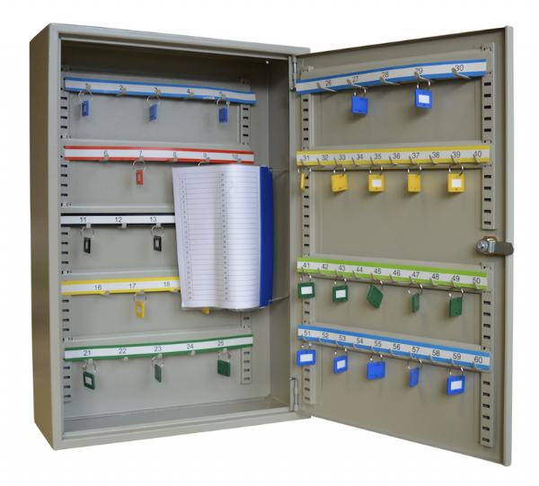 ASEC 60 Hook Key Cabinet for Keys & Key Bunches
